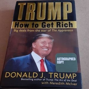 Donald J. Trump Other - Donald J. Trump  How To Get Ritch